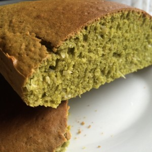 Matcha coconut bread