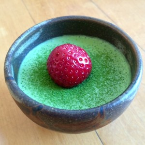 Matcha Green Tea Mousse